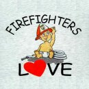 "Kinder-Shirt ""Firefighters Love"""
