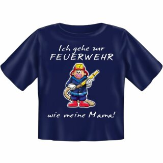 """Kinder-Shirt """"Ich gehe zur Feuerwehr ..."""""""
