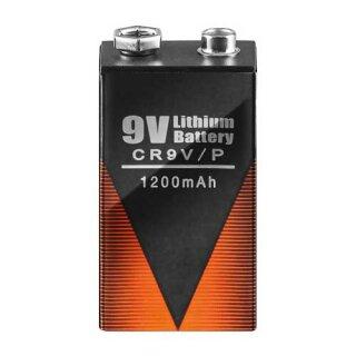 Batterie 9 Volt Block - Lithium