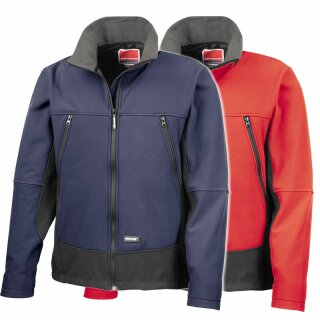 Aktiv-Softshell-Jacke mit Fire Rescue Druck