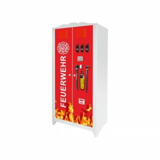 Feuerwehr-Aufkleber für Schrank HENSVIK von IKEA