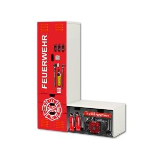 Feuerwehr-Aufkleber für L-Kombi STUVA von IKEA (2)