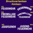 Feuerwehr T-Shirt mit Ortsnamen