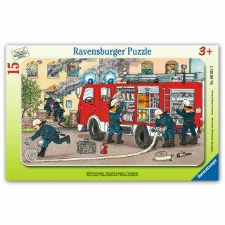 Rahmenpuzzle - Mein Feuerwehrauto