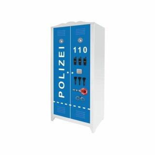 Polizei-Aufkleber für Schrank HENSVIK von IKEA