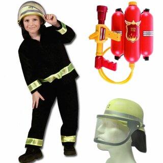 Kinder-Set - Anzug, DIN-Helm, Rückenspritze