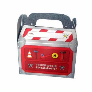 Geschenkbox - Motiv Feuerwehr 1