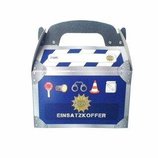 Geschenke Box - Motiv Polizei