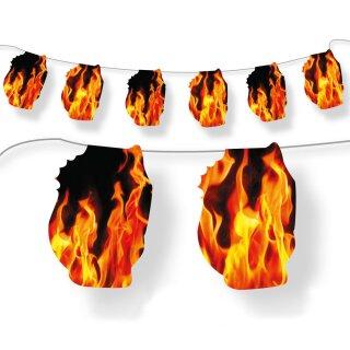 Wimpelkette - Motiv Fire