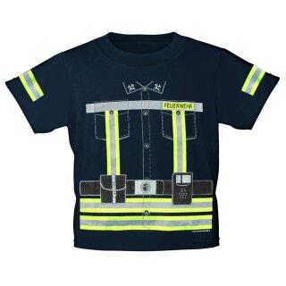 """Kinder-Shirt """"Feuerwehrmann"""" 1/2 (86-92)"""