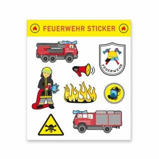 Sticker - Motiv Feuerwehr 1