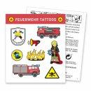 Tattoos - Motiv Feuerwehr 1