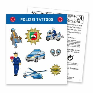 Tattoos - Motiv Polizei