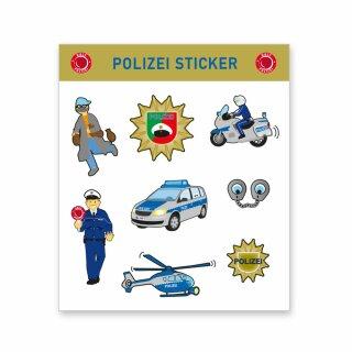 Sticker - Motiv Polizei