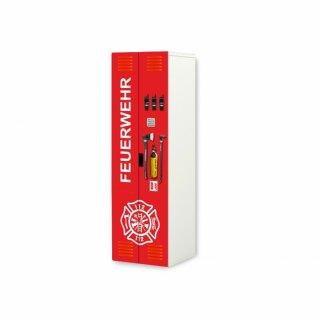 Feuerwehr-Aufkleber für Kleiderschrank STUVA von IKEA (2)