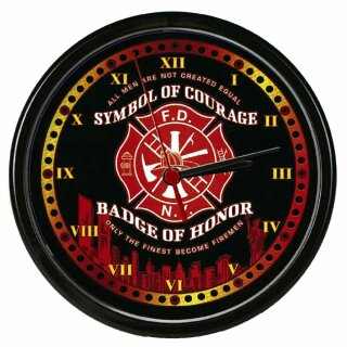 Wanduhr - Symbol of courage
