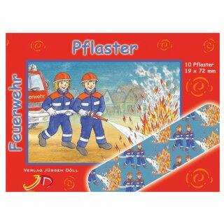 Pflasterbriefchen- Motiv Feuerwehr 2