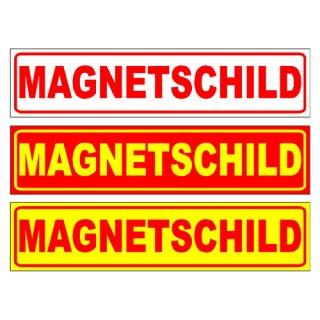 Magnetschild 35 x 8 cm, einzeilig