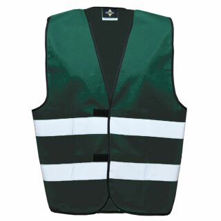 Funktionsweste paramedic green L Rückendruck
