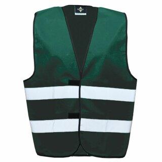 Funktionsweste paramedic green 2XL Rücken- u. Brustdruck