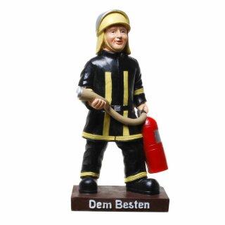 """Figur Feuerwehrmann """"Dem Besten"""""""