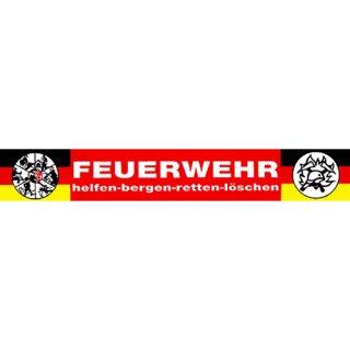 Aufkleber - FEUERWEHR - 40 cm breit