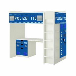Polizei-Aufkleber für Hochbett STUVA von IKEA