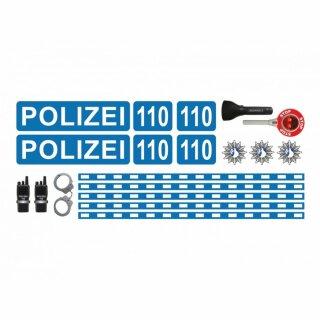 Polizei-Aufkleber-Set 2