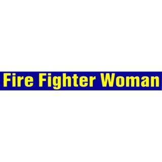 Aufkleber - Fire Fighter Woman