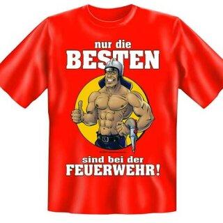 """Spaß-Shirt """"Nur die Besten ..."""" (2) L"""