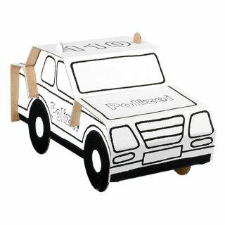 """Bastelset """"Polizeiauto"""""""