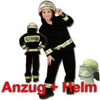 Kinder-Set - Anzug (104) und DIN-Helm