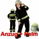 Kinder-Set - Anzug (116) und DIN-Helm