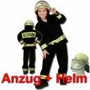 Kinder-Set - Anzug (128) und DIN-Helm