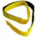 Klettband für Schlauchpaket gelb