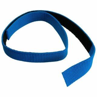 Klettband für Schlauchpaket blau
