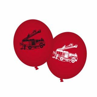 Luftballons - Motiv Feuerwehr 1